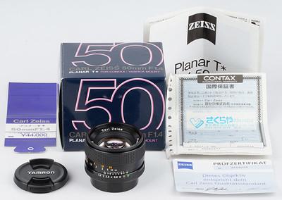 康泰时 Contax 50/1.4 Carl Zeiss Planar 50mm/f1.4 T* YC口 MMJ