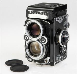 仅一台!禄莱博物馆来 Rolleiflex 2.8F 白脸 Prototype/Muster