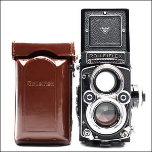 禄莱 Rolleiflex 2.8F 白脸 带皮套 好成色