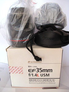 降价行货佳能  35mm f/1.4L   箱说保卡包装全。