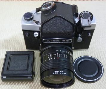 基辅60机身带65/3.5镜头 6X6中画幅胶片相机