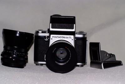 潘太康六(Pentacon 6)+80/2.8+50/4,多膜东蔡司镜头