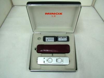 德国美乐时间谍相机, Minox LX 微型相机, 收藏级#