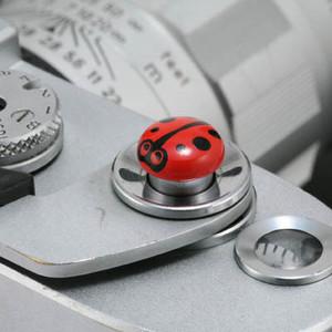 【三茂】可爱的相机专用快门按钮 (红、橙、白三色可选)日本制