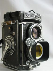 禄来ROLLEIFLEX 75MM/3.5天塞tessar120双反相机