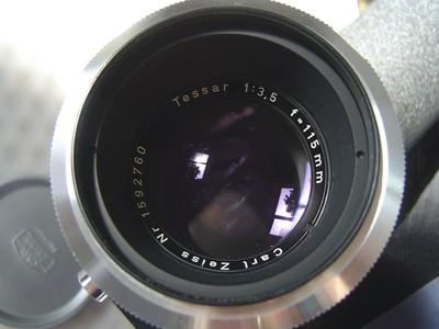 carl zeiss tessar 115mm f3.5 连