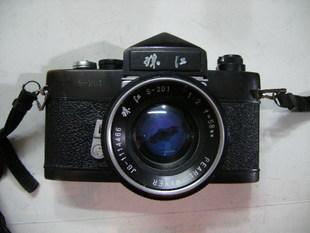 成色不错的珠江S201+珠江58MMF2+背带+原厂镜头盖3