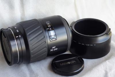 美能达 Minolta 9成新牛头 AF 70-210mm  F3.5-4.5 欢迎置换