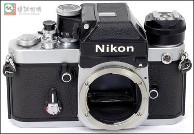 特价F2银色 胶片机身 带dp-11测光顶带AS-1转接角带AR-1快门按钮 编号8063003