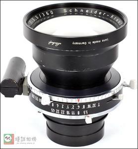 施奈德Schneider Tele-Arton 360/5.5镜头像场超大的一款 市场发售量少