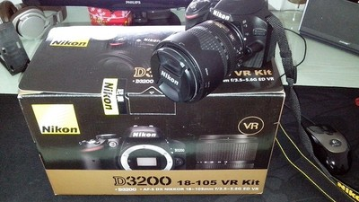 自用D3200转让 带18-105镜头
