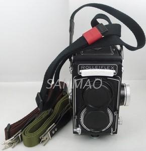 【三茂】Rolleiflex /禄来双反相机背带 棉背带 剪
