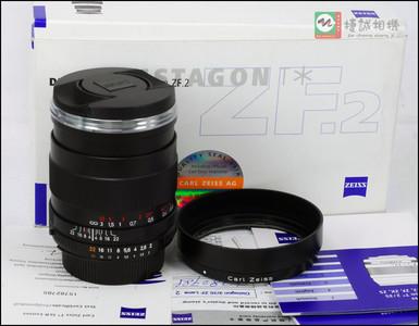 卡尔蔡司ZF35/2【尼康口】(2代) 镜头行货包装说明保卡齐全