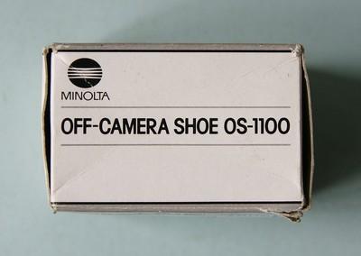 少见的美能达索尼单反TTL离机闪灯连线OS-1100+0C-