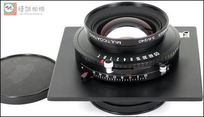 施耐德APO240mmF5.6 240/5.6镜头 座机镜头 大画幅镜头