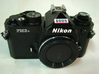 尼康 Nikon FM3A 经典胶卷机(黑漆版)#4008