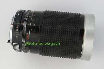 杂牌PKA口35-200全金属变焦镜头