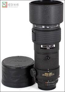 尼康 AF300mmF4ED AF300/4ED 定焦镜头 编号204052
