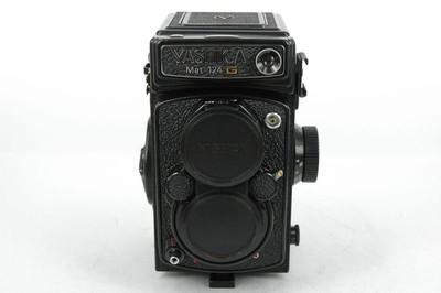 YASHICA 雅西卡 124G 经典双反胶片机,带皮套.