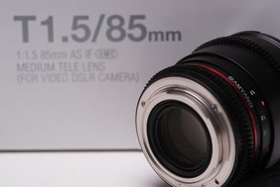三阳电影镜头85mmT1.5\16mm T2.2\8mmT3