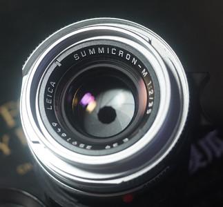 95新 徕卡 Leica M35 2 pre-A 银色七枚玉