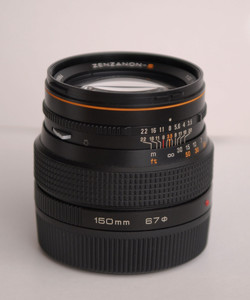 SQ-A 6X6用镜头-广角 S 50、中焦  S 150