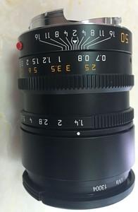 莱卡M240-P 加 50 1.4镜头 加SF24D闪光灯
