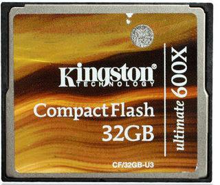 出 金士顿600X 32G CF卡