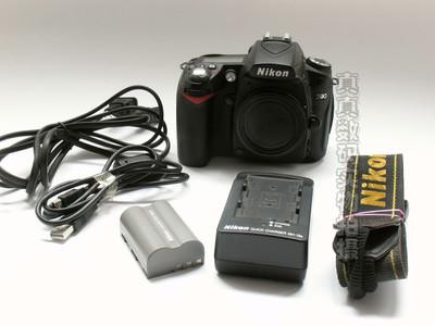 成色不错尼康D90单机(可配18-105VR镜头) 原电原充支持置换4533