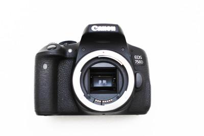 全新Cannon EOS 750D+佳能原厂50/1.8二代标准镜头