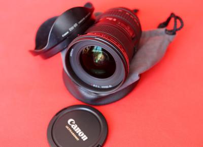 出售佳能16-35f2.8二代镜头内部无灰没有拆修过是行货的没有包装了