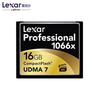 雷克沙 CF卡 1066X 16G 单反高速存储卡  国内总代理
