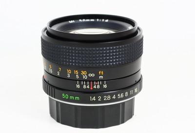 雅西卡 ML 50/1.4 YASHICA 日产 YC口手动镜头