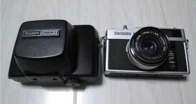 CANON/佳能 Canodate E 40/2.8 胶片旁轴相机(全套)