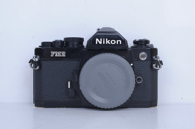 90新二手Nikon尼康 FM2 单机 胶片机 铝帘(B4599)【京】
