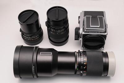 哈苏Hasselblad 503cx(50F4,150mmF4,350F4 镜头)套机大中幅相机