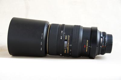 代友出售包装齐全的98新尼康AFVR80-40mmF4.5-5.6DED镜头