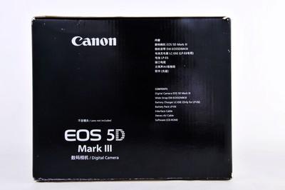 佳能 单反相机 5D3 单机 在保修期内