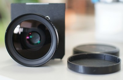 新款 FUJI 富士 SWD 90/5.6 EBC镀膜 4X5 5X7 617 带镜头板