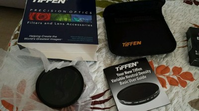 天芬TIFFEN 可调ND2-400减光镜中灰滤镜72mm