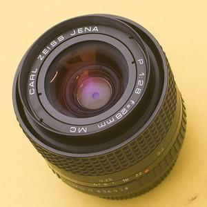nikon尼康口东德蔡司耶拿Zeiss Jena P 28 F2.8 MC PB手动镜头