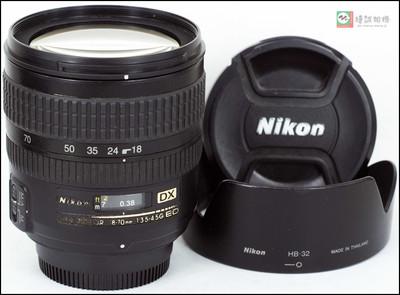 尼康 AF-S DX 18-70mm f/3.5-4.5G IF-ED 镜头