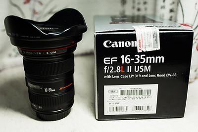 出自用佳能 EF 16-35mm f/2.8L II USM,行货,98成新!