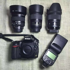 全套尼康D700单反相机加3个镜头转让,箱说全