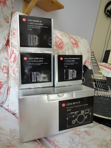 出 胶片机 银色 leica mp, 镜头 21/2.8 asph, 50/1.4 asph