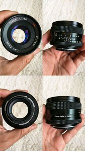 打包出蔡司镜头均价2000元/个:Carl Zeiss D25/2.8 ; P50/1.7