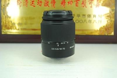 90新 MA口 索尼 DT 18-70 F3.5-5.6 单反镜头 半幅挂机头 可置换