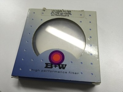 B+W 72mm UV镜