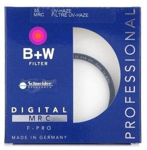 B+W 55mm MRC UV 铜圈多层镀膜UV镜