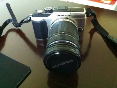 奥林巴斯EPL2,带14-150mm一镜走天下镜头